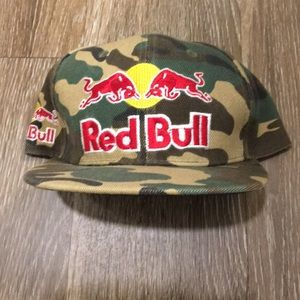 Other - Red Bull Camo SnapBack